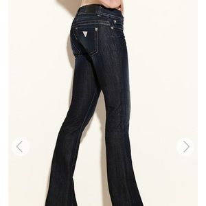 GUESS DAREDEVIL BOOTCUT JEANS - CRX WASH